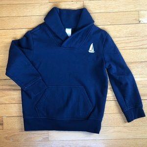 Gymboree Boys Sweatshirt, navy, size 5/6